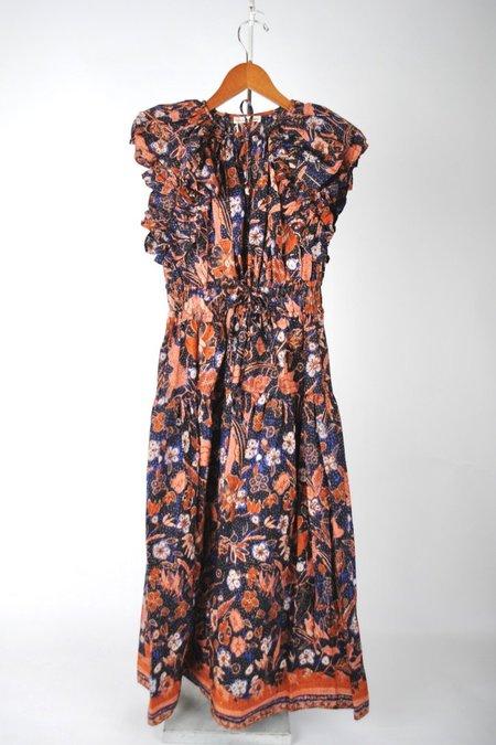 Ulla Johnson Arina Dress - Midnight Floral