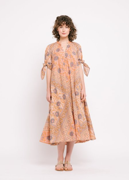Matta NY Manasi Booj Dress - Peach