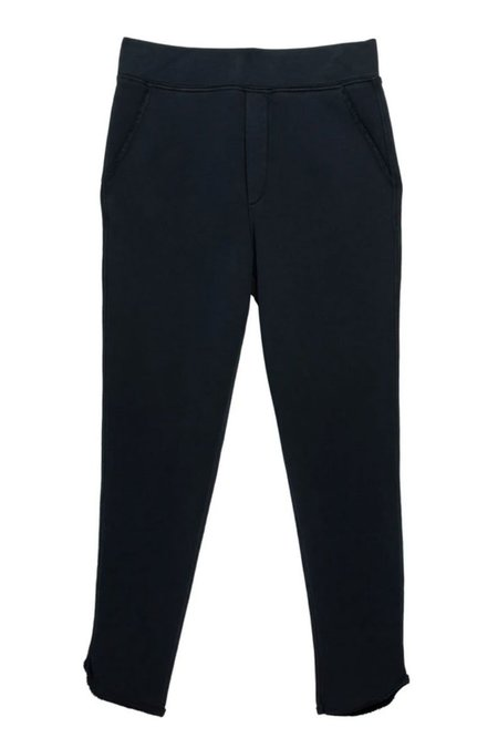 Tee Lab Tulip Ankle Sweatpant -  Navy