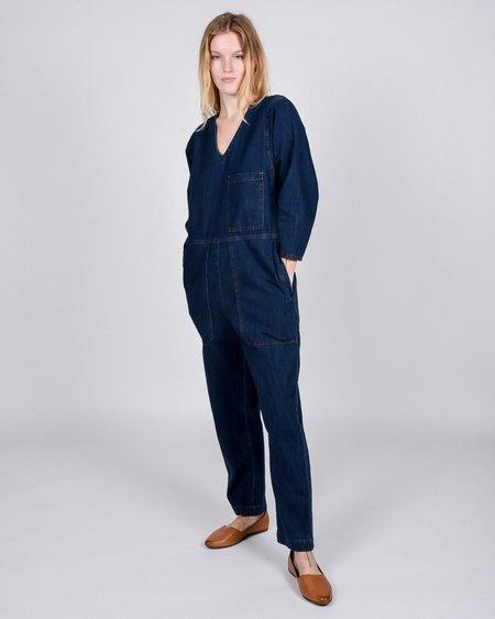 L.F.Markey Earlston Boilersuit - Raw Denim