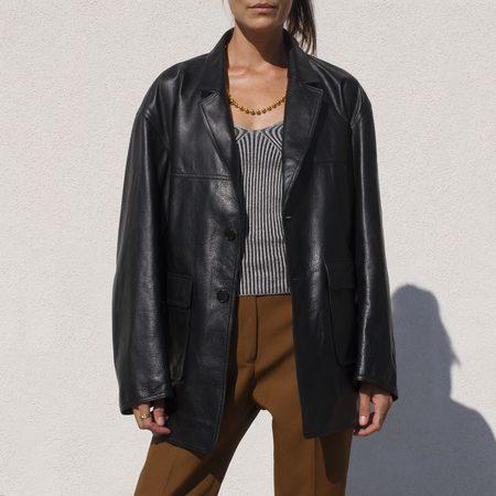 Ambush Relax Leather Jacket