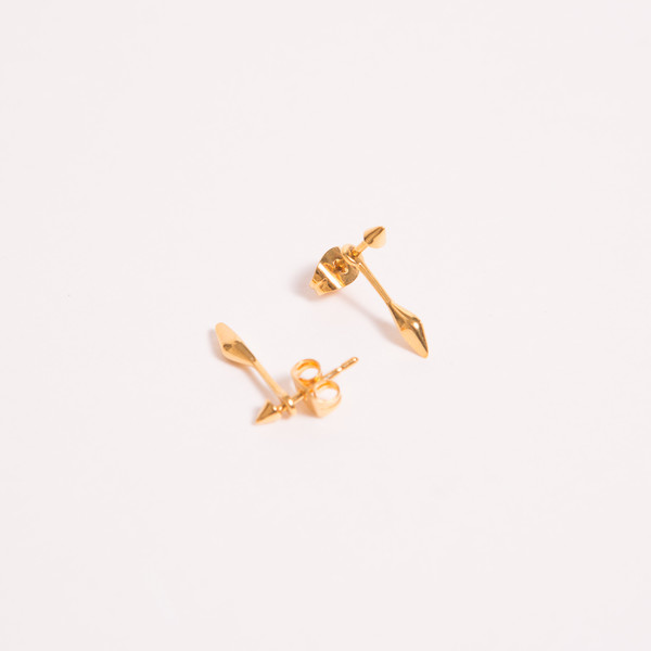 A Peace Treaty Mahala Gold Earrings