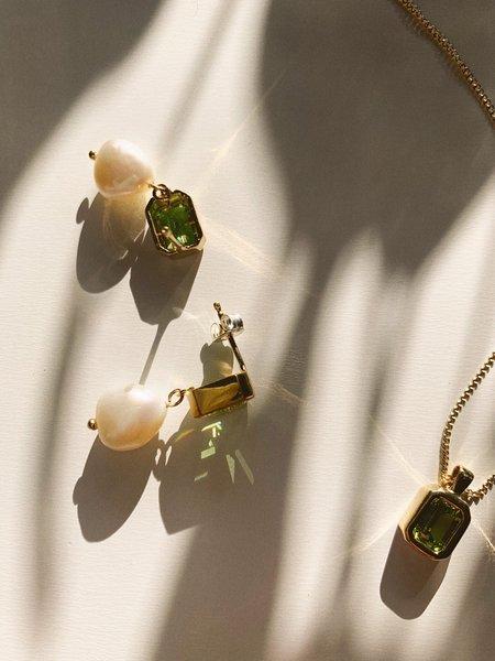 Wolf Circus Penelope Earrings - Gold/Peridot
