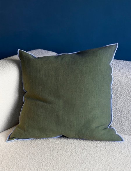 Hay Outline Cushion - Moss
