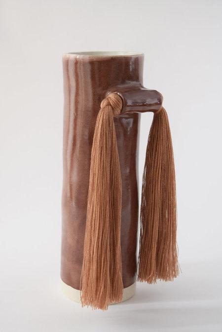 Karen Gayle Tinney Vase #531 - Brick