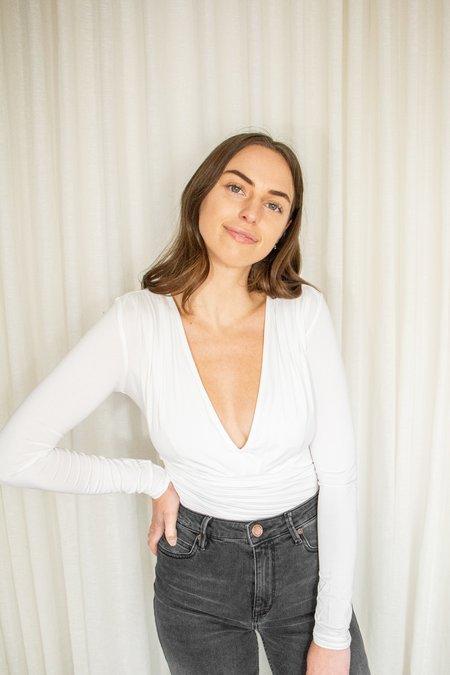 The Line By K Isla Long Sleeve Bodysuit