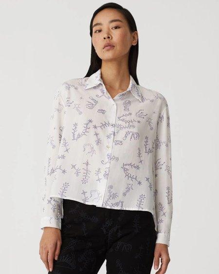 Paloma Wool Bunjin Shirt - Off White