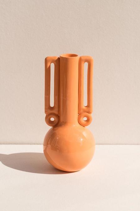 Abs Objects Mino Vase - Orange