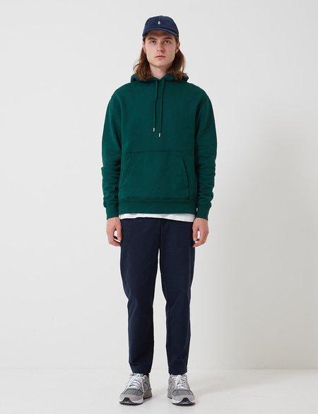 Bhode Oversized Pocket Hoodie Organic Cotton sweater - Green