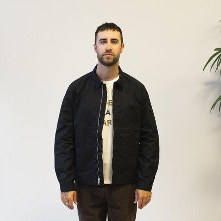 Knickerbocker Waxed Zip Work Jacket - Black