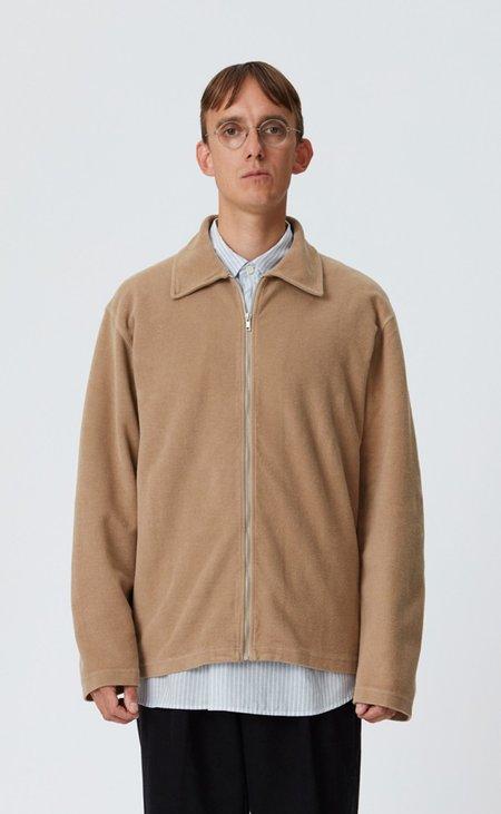 mfpen Lucen zip shirt - tan