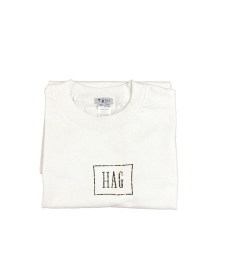 unisex house of 950 fag / hag combo embroidery tee shirt