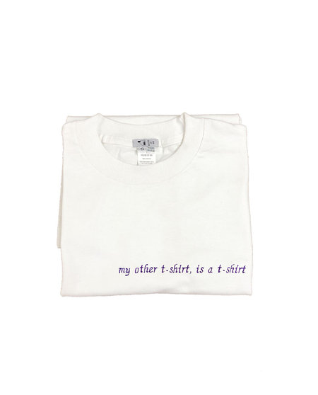 unisex house of 950 my other t-shirt is a t-shirt embroidery tee shirt