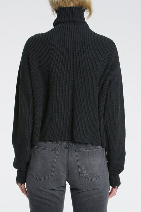 Pistola Brandy Turtleneck Pullover - Black