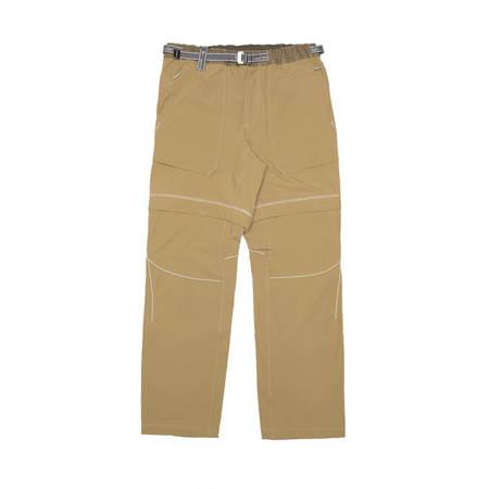 AND WANDER Zipped pants - Khaki