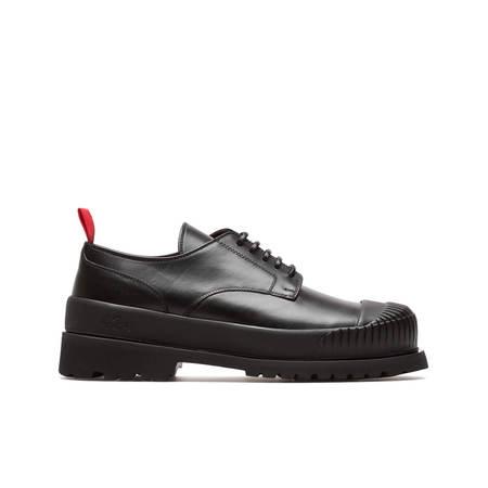 424 Derby double sole - black