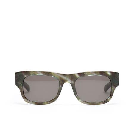 FLATLIST Flat handmade sunglasses - GREEN