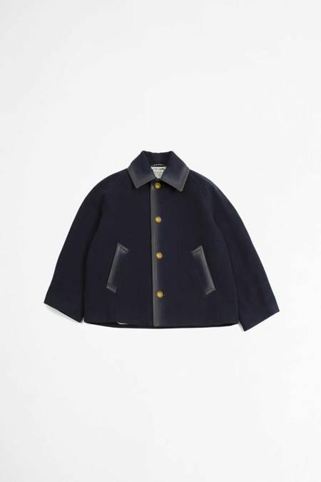 Marni Short Single Breasted Jacket - Navy