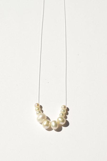 Eyde vidette necklace - pearl/ 14k gold fill
