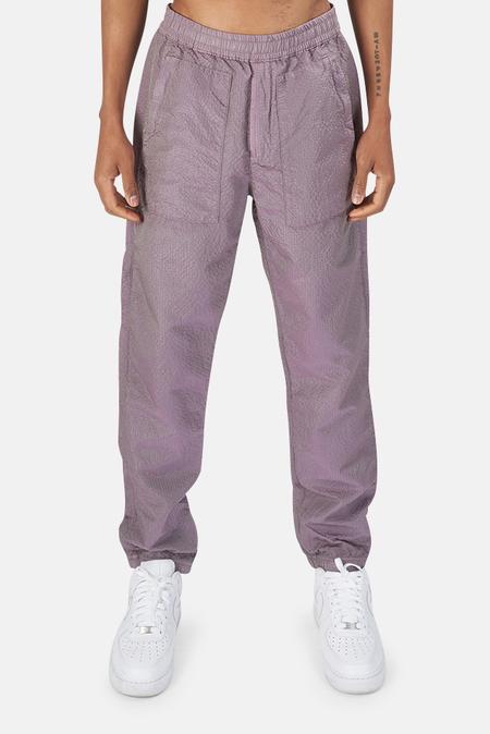 Stone Island Poly-Color Frame-TC Pants - Purple