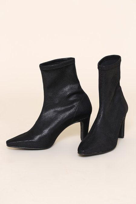 """""""INTENTIONALLY __________."""" Lashes Boots - Black"""