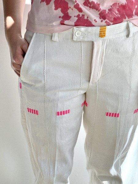Kente Gentlemen Juls I Pant - White
