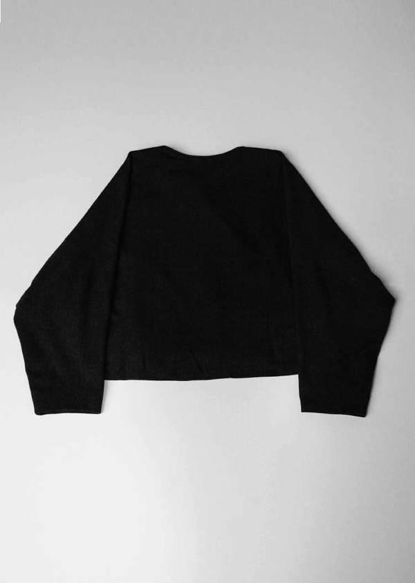 Berenik Cardigan - Short Dark Grey