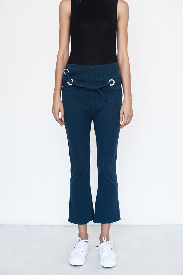 Faustine Steinmetz Cotton Oversized Rib Jean