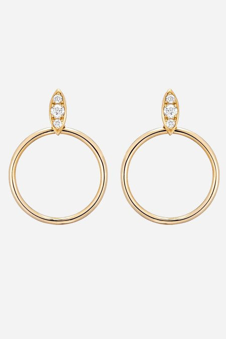 Carbon & Hyde Lucienne Hoops