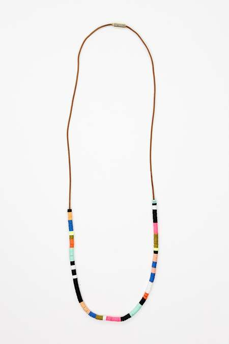 JULIE THÉVENOT Small multi Isiand necklace - Gold