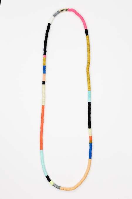 JULIE THÉVENOT Long multi Isiand necklace - multi