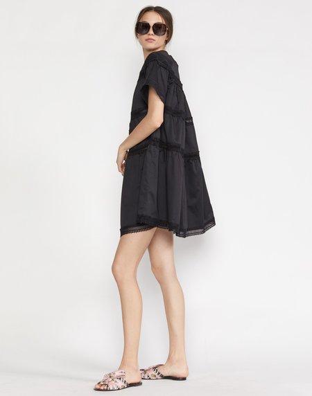 Cynthia Rowley Postcard Dress - black
