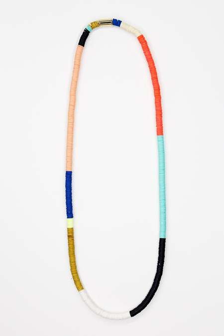 JULIE THÉVENOT Chunky long multi Isiand necklace - multi