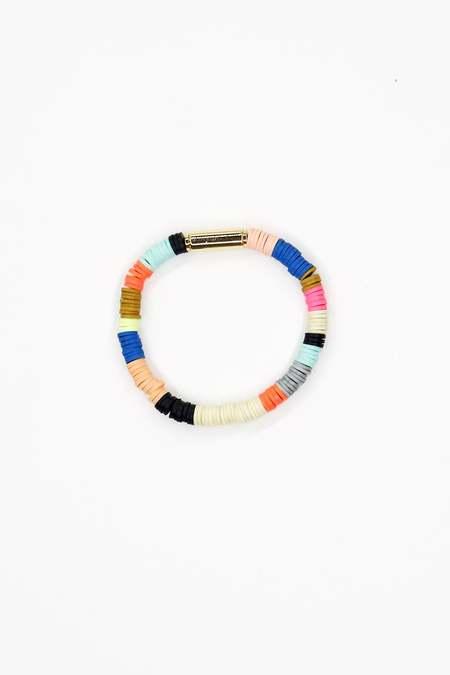 JULIE THÉVENOT Skinny multicolor Isiand bracelet - multi