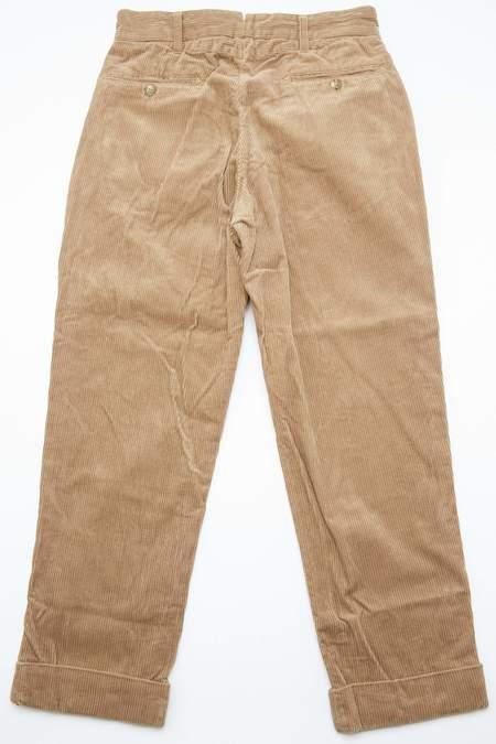Engineered Garments Andover Pant in 8W Corduroy - Khaki
