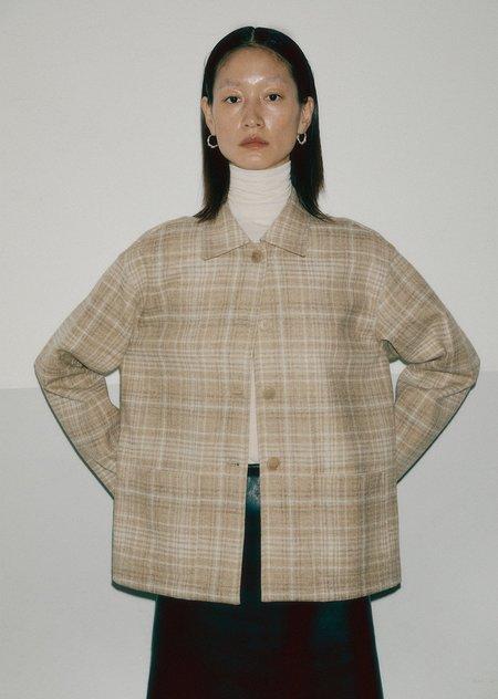 AMOMENTO check jacket