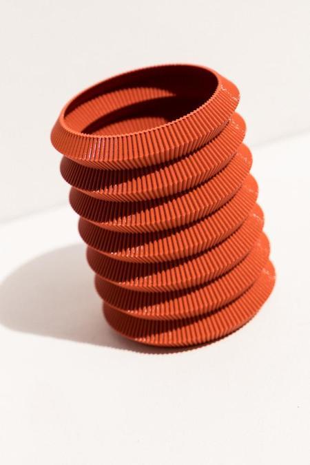 UAU Project S Vase 6 - rust