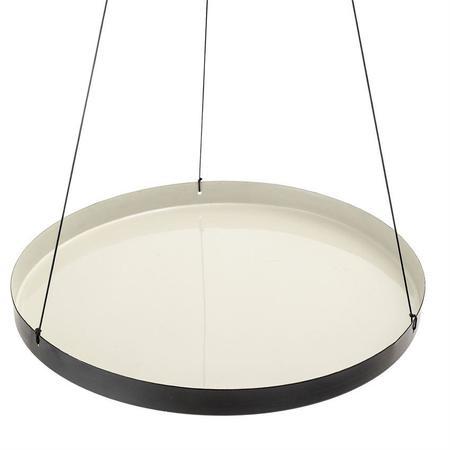 Greenwood Enamel Hanging Tray Shelf - Grey