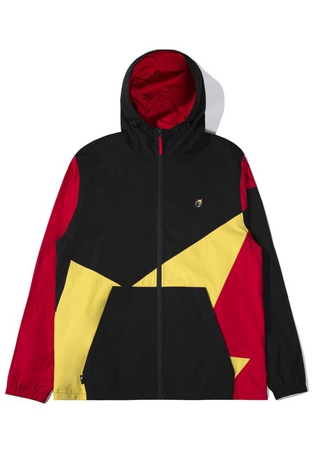 The Hundreds Ignite Jacket -  Black/Red/yellow