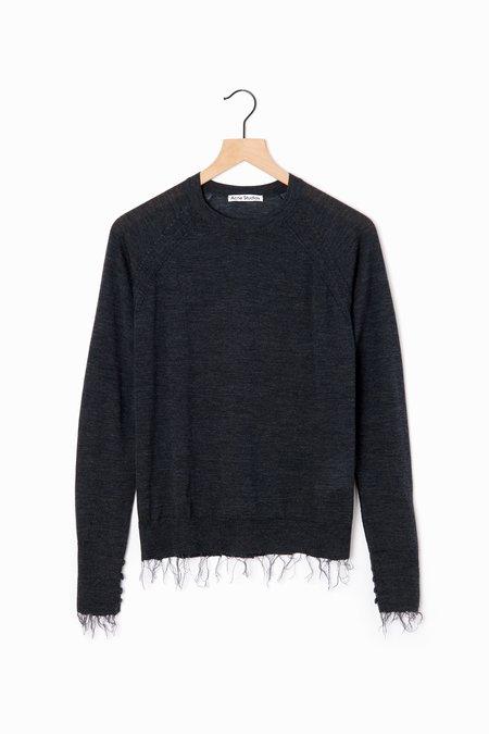 acne studios Katerina Sweater - Dark Grey