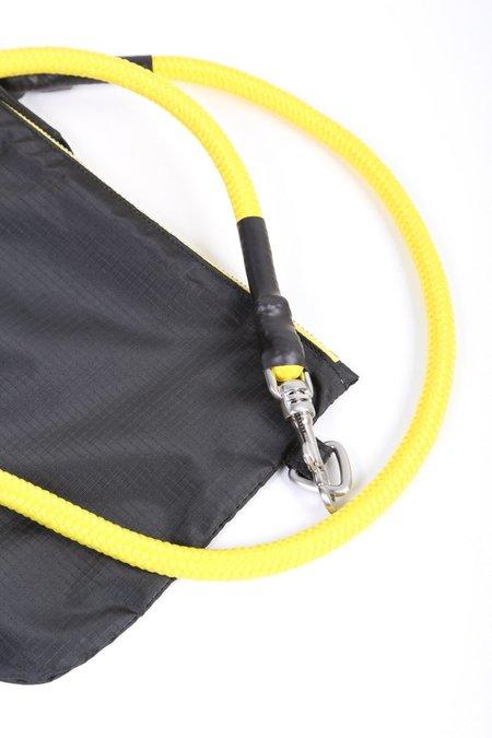 Rick Owens Large Pouch - Black/Yellow Strap