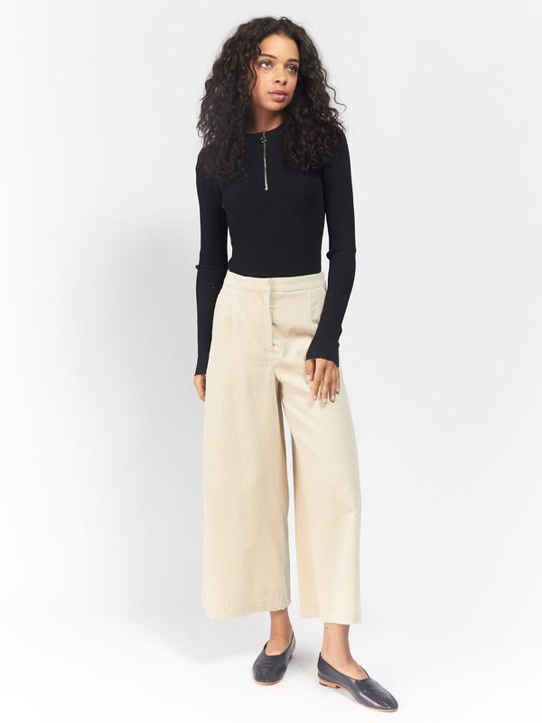 Pari Desai Tiff Zip Sweater Bodysuit
