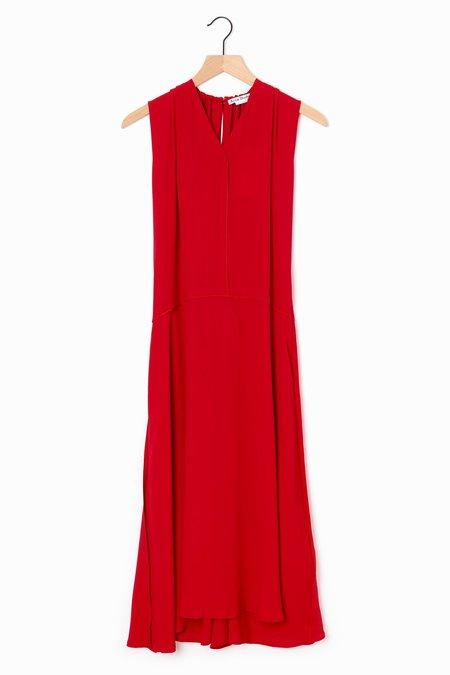acne studios Dariele Dress - Cherry Red