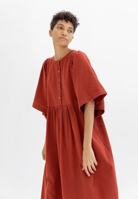 Ilana Kohn Eleanor Dress - Terra Twill