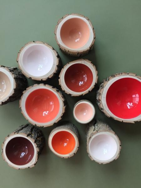 Loyal Loot Log Bowl - Size 4 Peach