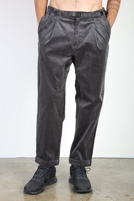 Gramicci Corduroy Tapered Pants - Charcoal