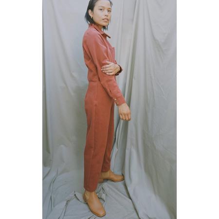 Selva Negra Rafa Twill Jumpsuit - Saffron