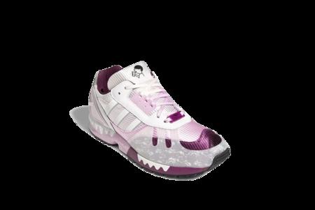 adidas ZX 7000 Sneaker - White/Pink/Purple