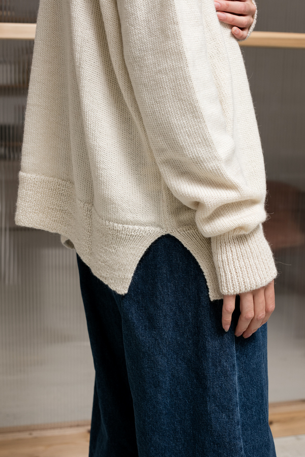 Lauren Manoogian Simple Cardigan - white