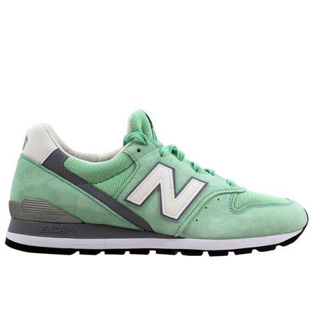 New Balance 996 D Sneakers - Green Mint